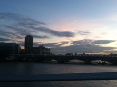 Thames Sunset!!